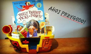 Polly parrot picks a pirate - Baobook.pl