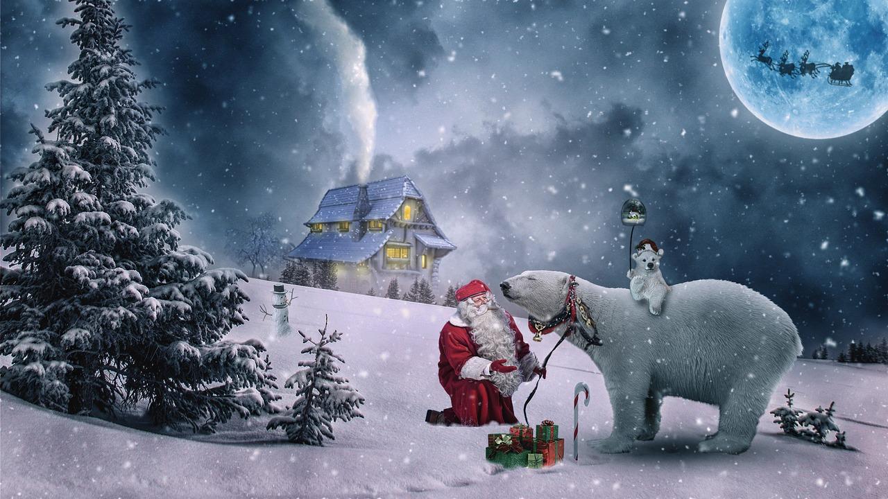 Mikołaj i fabryka zabawek
