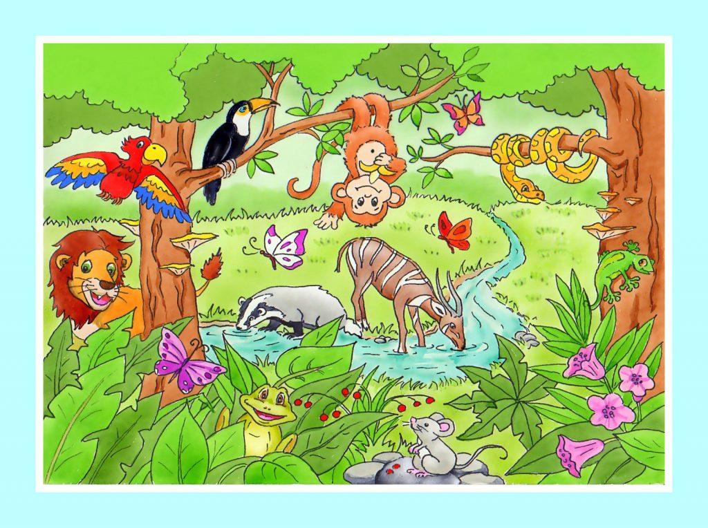 Przygody W Tajemniczej Dżungli Robert L Fabryka Bajek
