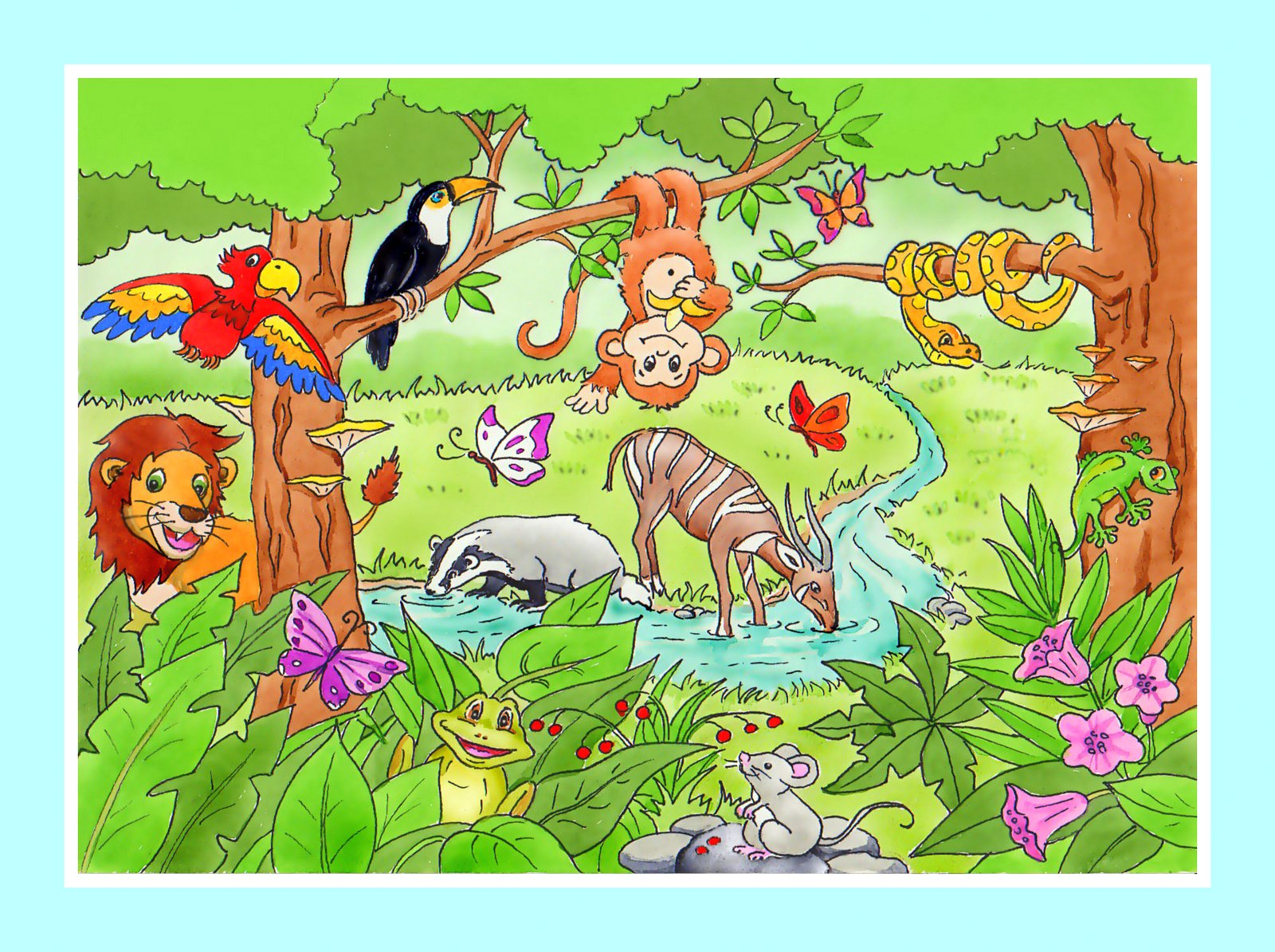 Przygoda w tajemniczej dżungli