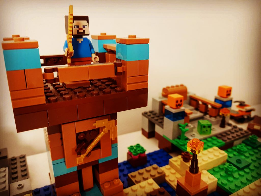 lego smyk klocki minecraft