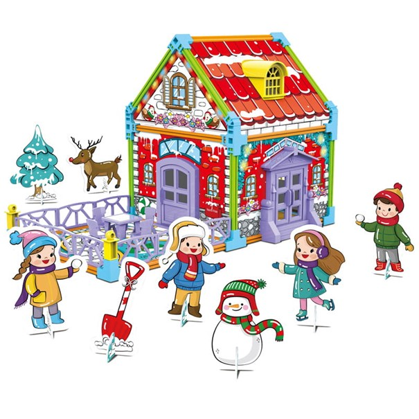 Tekturowe domki dla dzieci