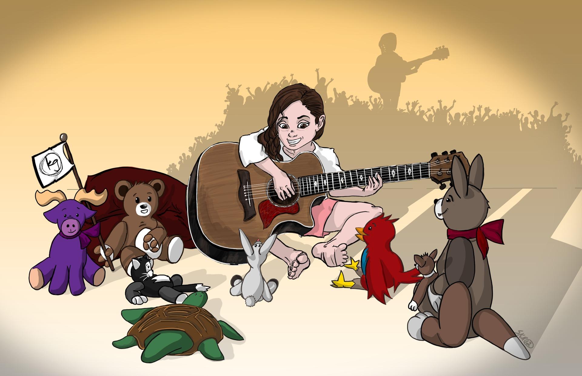 Piosenki na maluchów do nauki angielskiego